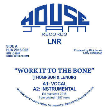 Cover art - LNR: Work It To The Bone