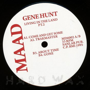 Cover art - Gene Hunt: Living In The Land Pt.2