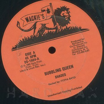 Cover art - Shades: Bubbling Queen