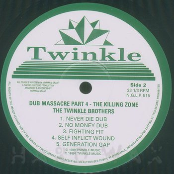 Cover art - Twinkle Brothers: Dub Massacre Part 4: The Killing Zone