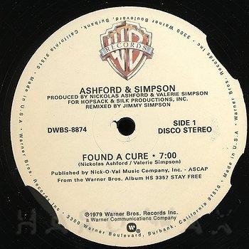 Ashford & Simpson: Found A Cure - Hard Wax