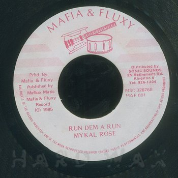 Cover art - Mykal Rose: Run Dem A Run