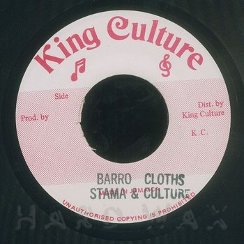 Cover art - Stama & Culture: Barro Cloths