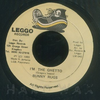 Cover art - Bunny Rugs: I'm The Ghetto
