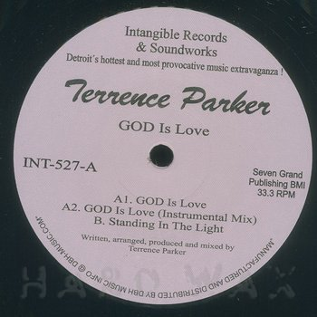 Cover art - Terrence Parker: God Is Love