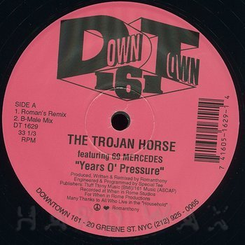 Cover art - The Trojan Horse: Years O' Pressure
