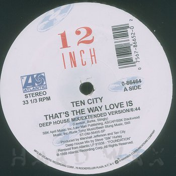 Cover art - Ten City: That's The Way Love Is