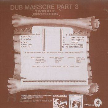 Cover art - Twinkle Brothers: Dub Massacre Part 3: Dub It Inna Roots Stylee