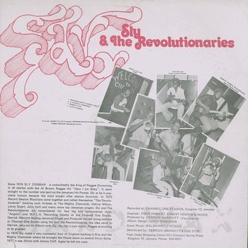 Cover art - Sly & The Revolutionaries: Go Deh Wid Riddim