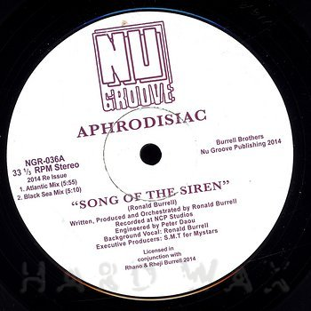 Cover art - Aphrodisiac: Song Of The Siren