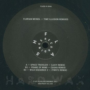 Cover art - Florian Meindl: Time Illusion The Remixes