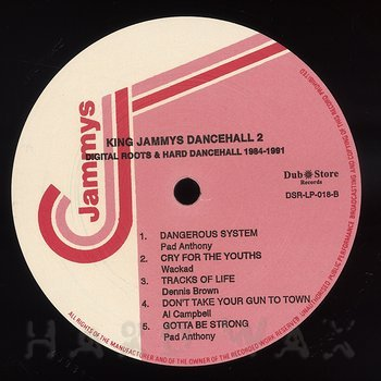 Cover art - Various Artists: King Jammys Dancehall 2: Digital Roots & Hard Dancehall 1984-1991