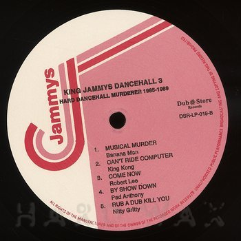 Cover art - Various Artists: King Jammys Dancehall 3: Hard Dancehall Murderer 1985-1989