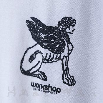 Cover art - T-Shirt, Size S: Workshop 18, white w/ black print