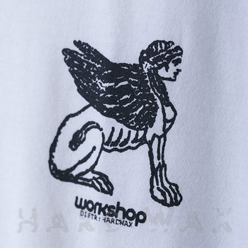 Cover art - T-Shirt, Size XL: Workshop 18, white w/ black print