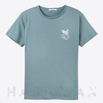 Cover art - T-Shirt, Size L: Workshop 18, mint grey w/ white print