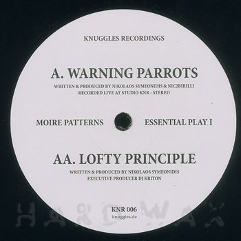Cover art - Moire Patterns: Essential Play 1
