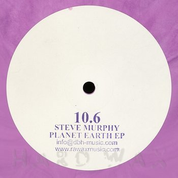 Cover art - Steve Murphy: Planet Earth EP