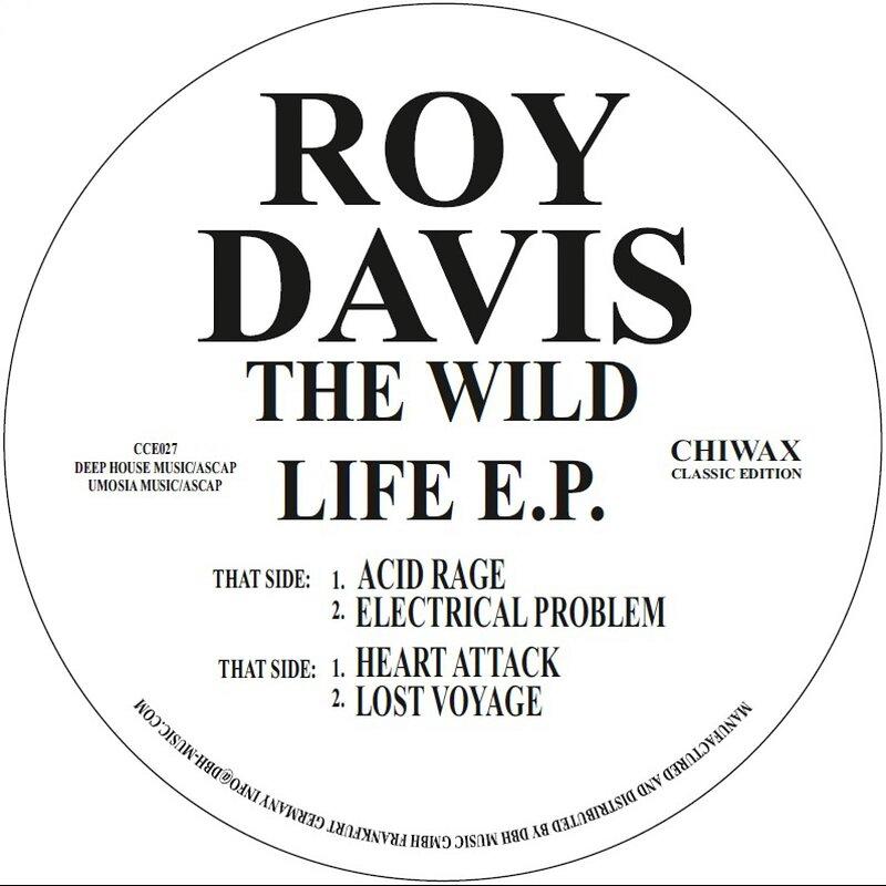 Cover art - Roy Davis Jr.: The Wild Life EP