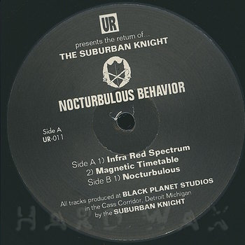 Cover art - Suburban Knight: Nocturbulous Behavior