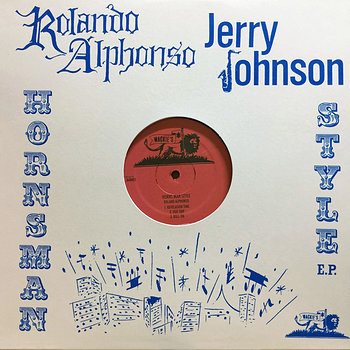 Cover art - Rolando Alphonso / Jerry Johnson: Horns Man Style