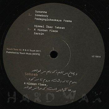 Cover art - Sohrab: A Hidden Place