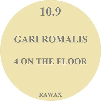 Cover art - Gari Romalis: 4 On The Floor