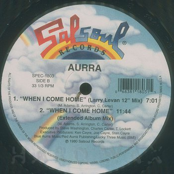 Cover art - Aurra: In The Mood (To Groove)