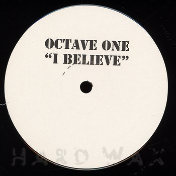 Cover art - Octave One: I Believe