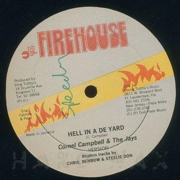 Cover art - Cornel Campbell & The Jays: Hell Inna De Yard
