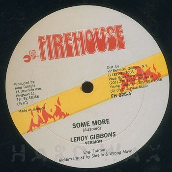 Cover art - Leroy Gibbons: Some More