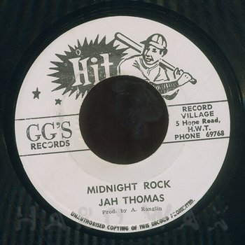 Cover art - Jah Thomas: Midnight Rock