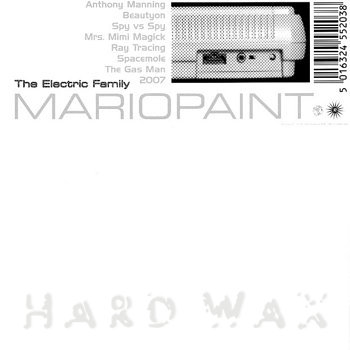 Cover art - Various Artists: The Electric Family - Mariopaint