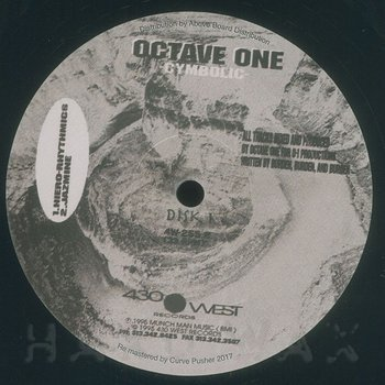 Cover art - Octave One: Cymbolic EP