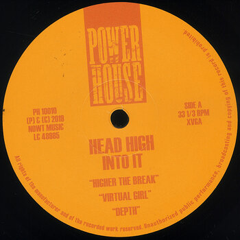 Cover art - Head High: Into It