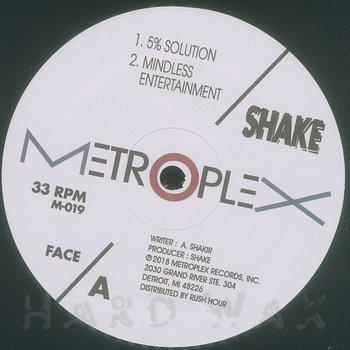 Cover art - Shake: 5% Solution