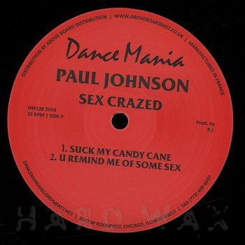 Cover art - Paul Johnson: Sex Crazed
