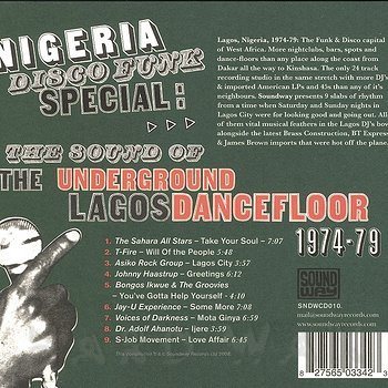Cover art - Various Artists: Nigeria Disco Funk Special