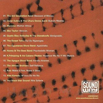 Cover art - Various Artists: Ghana Soundz