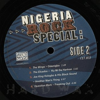 Cover art - Various Artists: Nigeria Rock Special