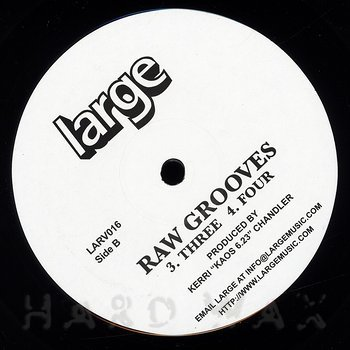 Cover art - Kerri Chandler: Raw Grooves