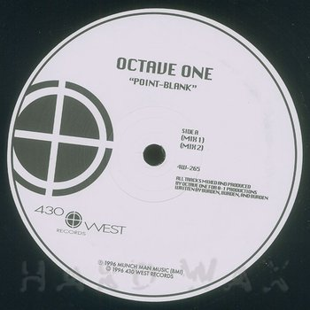 Cover art - Octave One: Point Blank