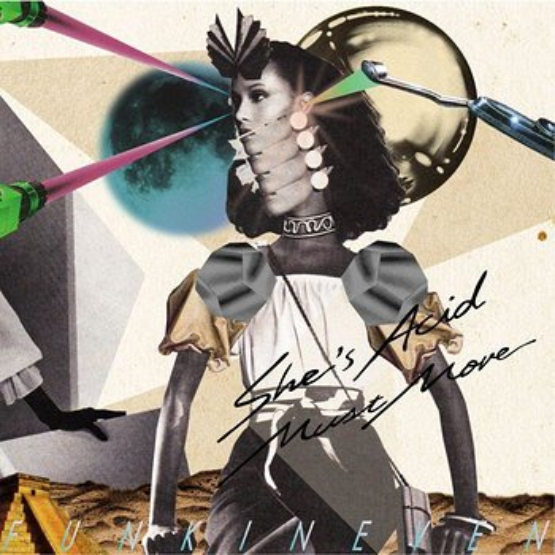 Cover art - Funkineven: She's Acid