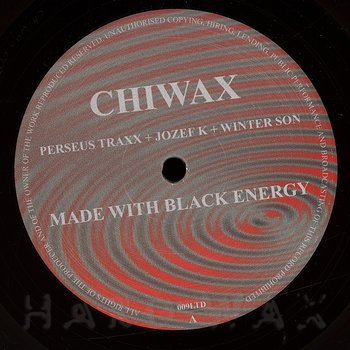 Cover art - Perseus Traxx + Jozef K + Winter Son: Made With Black Energy EP