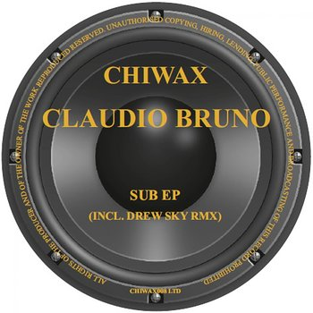 Cover art - Claudio Bruno: Sub EP