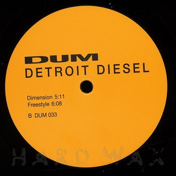 Cover art - Detroit Diesel: Dimension
