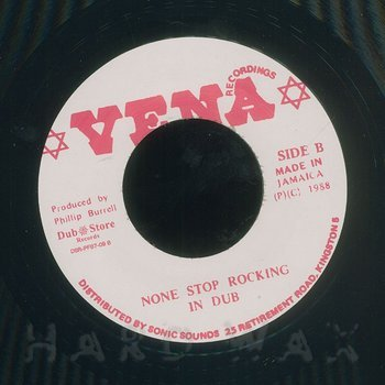 Cover art - Sugar Minott: None Stop Rocking