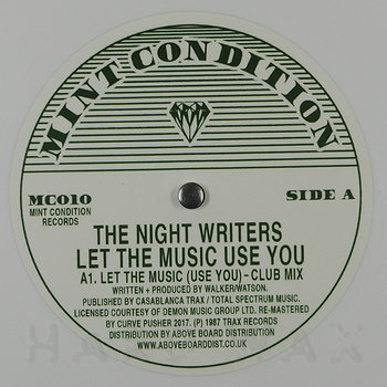 Cover art - The Night Writers: Let The Music ( Use You )