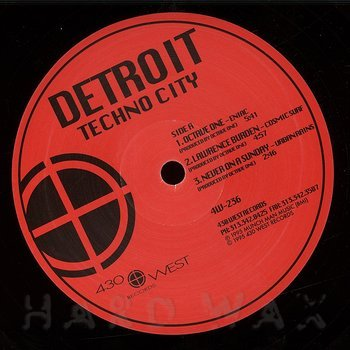 Cover art - Various Artists: Detroit Techno City
