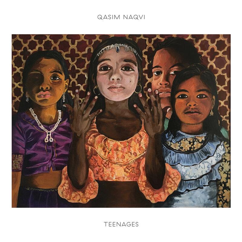 Cover art - Qasim Naqvi: Teenages